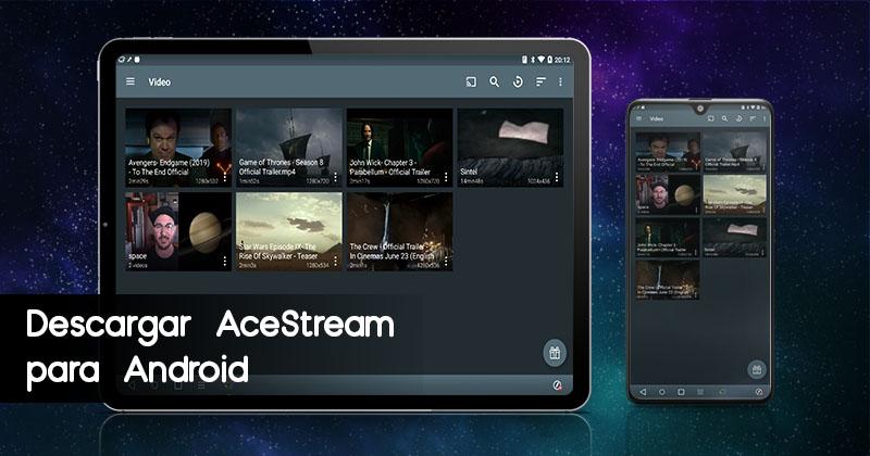 Descargar AceStream para Android