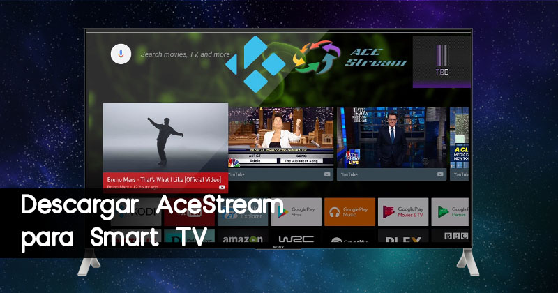 Descargar AceStream para Smart TV
