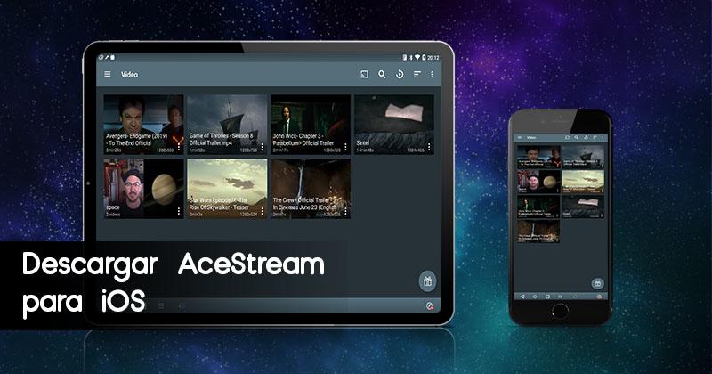 Descargar AceStream para iOS