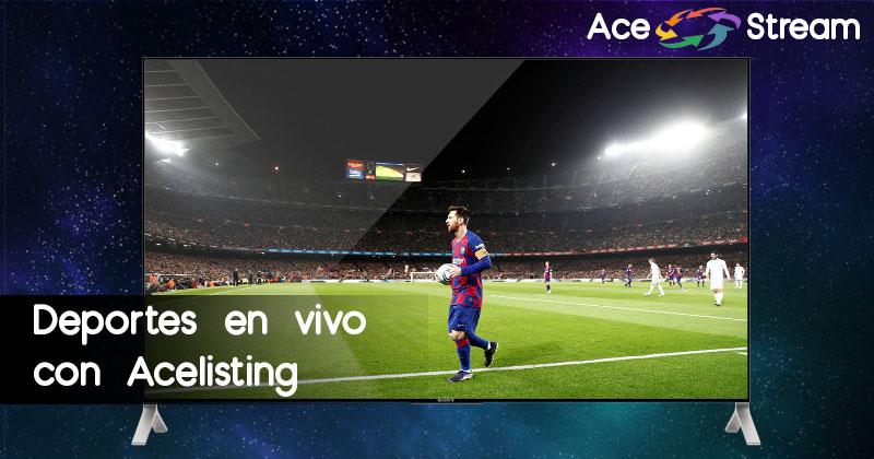 Deportes en vivo Acelisting